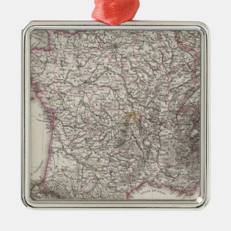 France and Switzerland Christmas Ornament