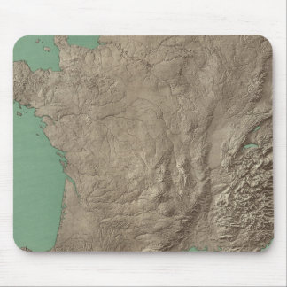 France and Switzerland Mouse Mat