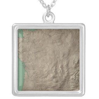 France and Switzerland Silver Plated Necklace