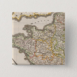 France and the kingdoms of Aries to 1180 15 Cm Square Badge