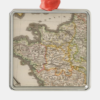 France and the kingdoms of Aries to 1180 Christmas Ornament