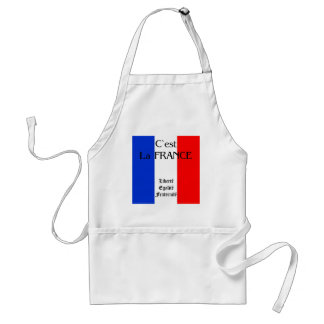 France Standard Apron
