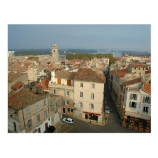 France, Arles, Provence, city view from Postcard