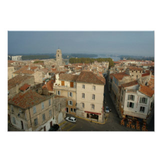 France Arles Provence city view from Print