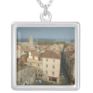 France, Arles, Provence, city view from Silver Plated Necklace