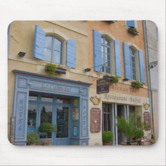 France, Arles, Provence, hotel and restaurant Mouse Pad