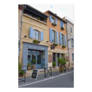 France, Arles, Provence, hotel and restaurant Photo Print