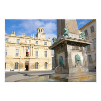 France, Arles, Provence, Place de la Photo Print