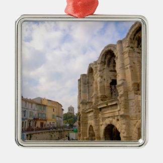 France, Arles, Provence, Roman amphitheatre Christmas Ornament