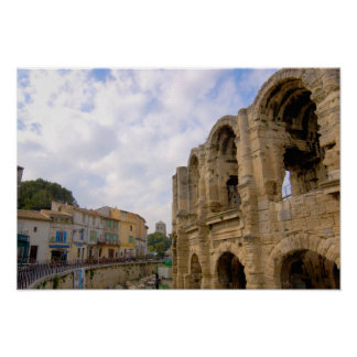 France, Arles, Provence, Roman amphitheatre Posters