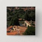 France, Avignon, Provence. Pont St, Benezet. 15 Cm Square Badge