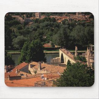 France, Avignon, Provence. Pont St, Benezet. Mouse Pad