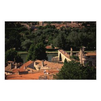 France, Avignon, Provence. Pont St, Benezet. Photograph