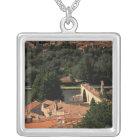 France, Avignon, Provence. Pont St, Benezet. Silver Plated Necklace