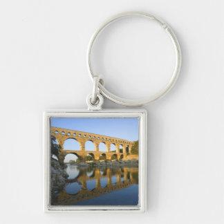 France, Avignon. The Pont du Gard Roman aqueduct Key Ring