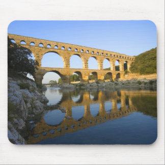 France, Avignon. The Pont du Gard Roman aqueduct Mouse Mat