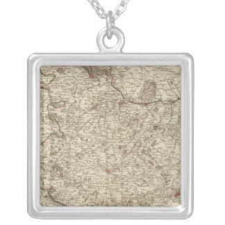 France, Belgium, Europe Silver Plated Necklace