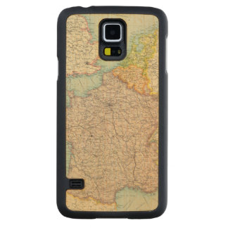 France, Belgium & Holland political Carved Maple Galaxy S5 Case