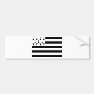 France Brittany Flag Bumper Sticker