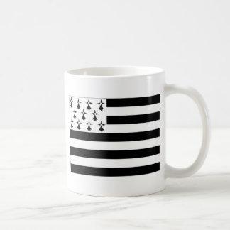 France Brittany Flag Coffee Mug
