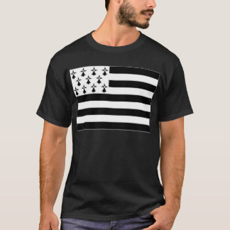 France Brittany Flag T-Shirt