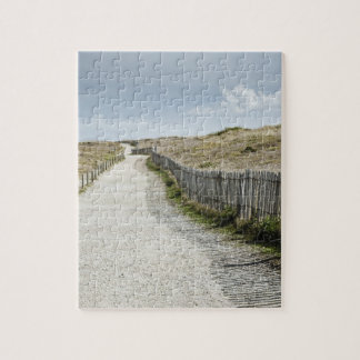France, Brittany, Morbihan Department, Coastal Jigsaw Puzzle