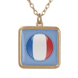 France Bubble Flag Pendant