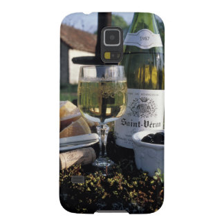 France, Burgundy, Chablis. Local wine and Galaxy S5 Cases