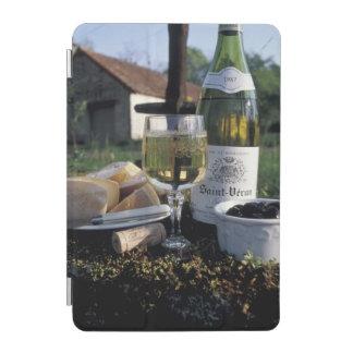 France, Burgundy, Chablis. Local wine and iPad Mini Cover