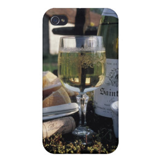 France, Burgundy, Chablis. Local wine and iPhone 4 Case