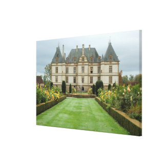 France, Burgundy, Cormatin, Chateau de Cormatin, Canvas Print