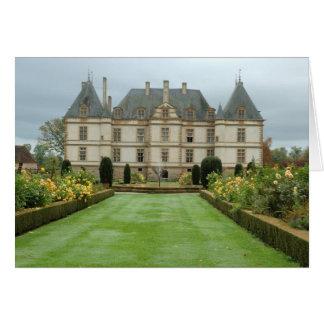 France, Burgundy, Cormatin, Chateau de Cormatin, Card