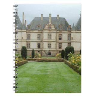 France, Burgundy, Cormatin, Chateau de Cormatin, Notebooks
