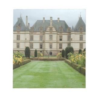 France, Burgundy, Cormatin, Chateau de Cormatin, Notepad
