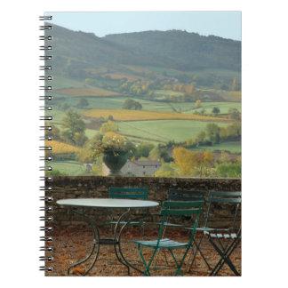 France, Burgundy, Maconnais region, Chateau de Notebooks
