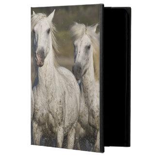 France, Camargue. Horses run through the 2 iPad Air Case