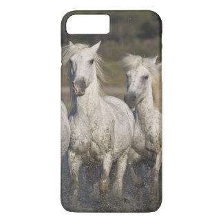 France, Camargue. Horses run through the 2 iPhone 8 Plus/7 Plus Case