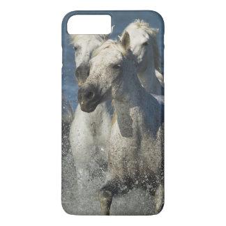 France, Camargue. Horses run through the estuary 4 iPhone 8 Plus/7 Plus Case