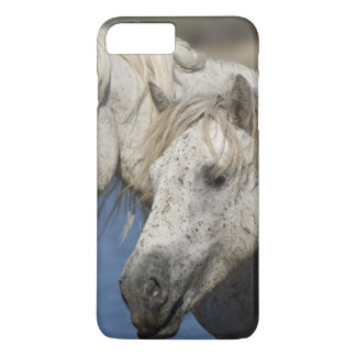 France, Camargue. Horses run through the iPhone 8 Plus/7 Plus Case