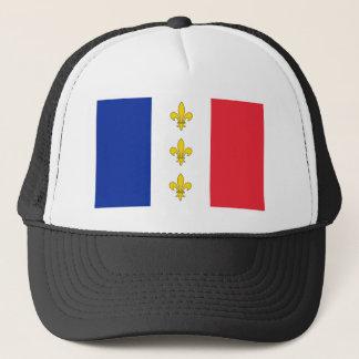 France Cap - Tricolour & Fleurs-de-Lys