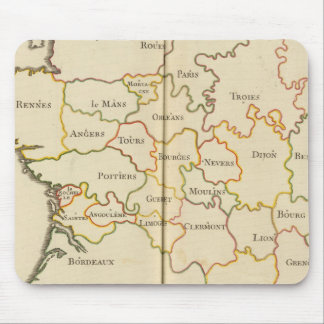 France  Capitals Mouse Pad