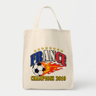 France Champions Grocery Tote Bag