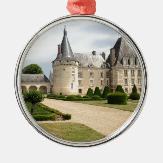 France Chateau Castle Landmark Historic Christmas Ornament
