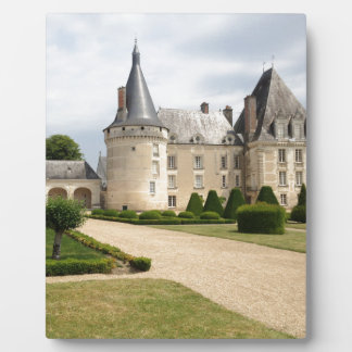 France Chateau Castle Landmark Historic Plaques
