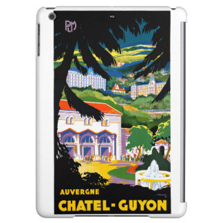 France Chatel Guyon Restored Vintage Travel Poster