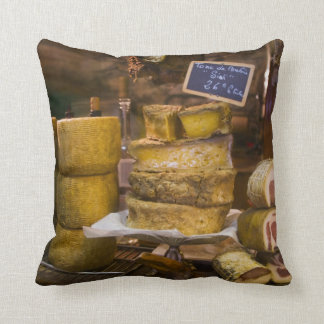 France, Corsica. Local cheeses and charcuterie Cushion