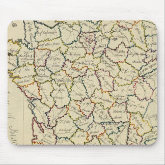 France departments mouse pad