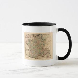 France, departments mug