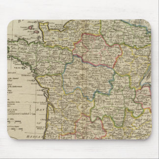 France Divided into Circles and Departments 2 Mouse Pad