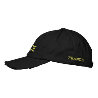 FRANCE embroidered Embroidered Hat